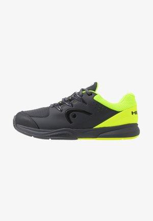BRAZER 2.0 - Tenisové boty na všechny povrchy - anthracite/neon yellow