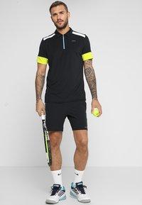 Head - GOLDEN SLAM - Poloshirt - black/yellow - 1
