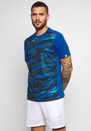 SLIDER - T-shirt imprimé - dark blue