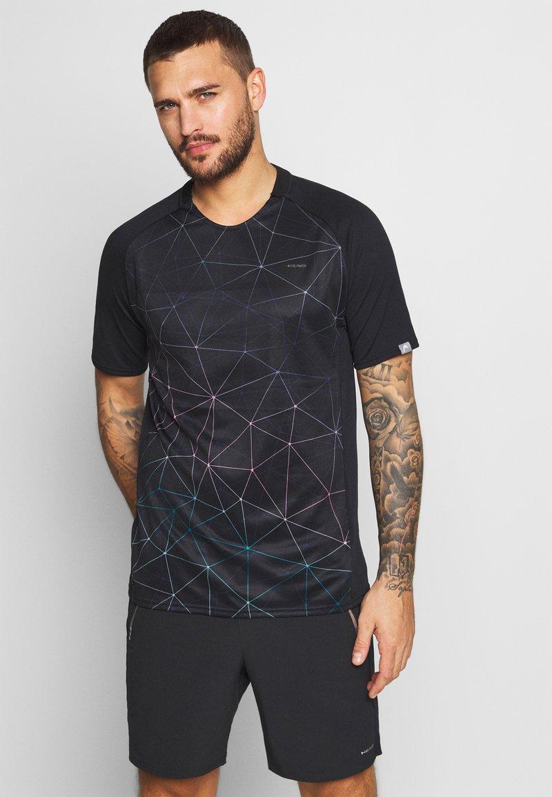 Head - T-shirt imprimé - black