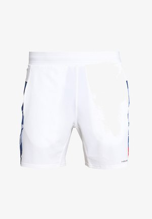 MEDLEY  - Korte sportsbukser - white/royal blue