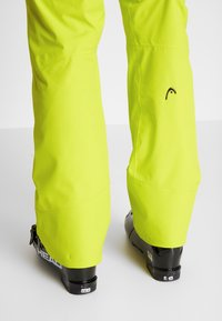 Head - SUMMIT PANTS - Pantalon de ski - yellow - 3