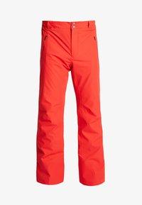 Head - SUMMIT PANTS - Pantalon de ski - red - 4