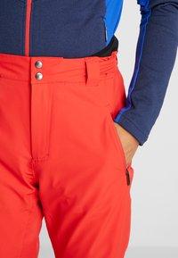 Head - SUMMIT PANTS - Pantalon de ski - red - 3
