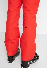 Head - SUMMIT PANTS - Pantalon de ski - red - 5