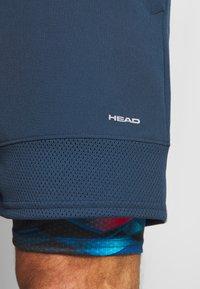 Head - SLIDER - Short de sport - dark blue/camo dark blue - 5