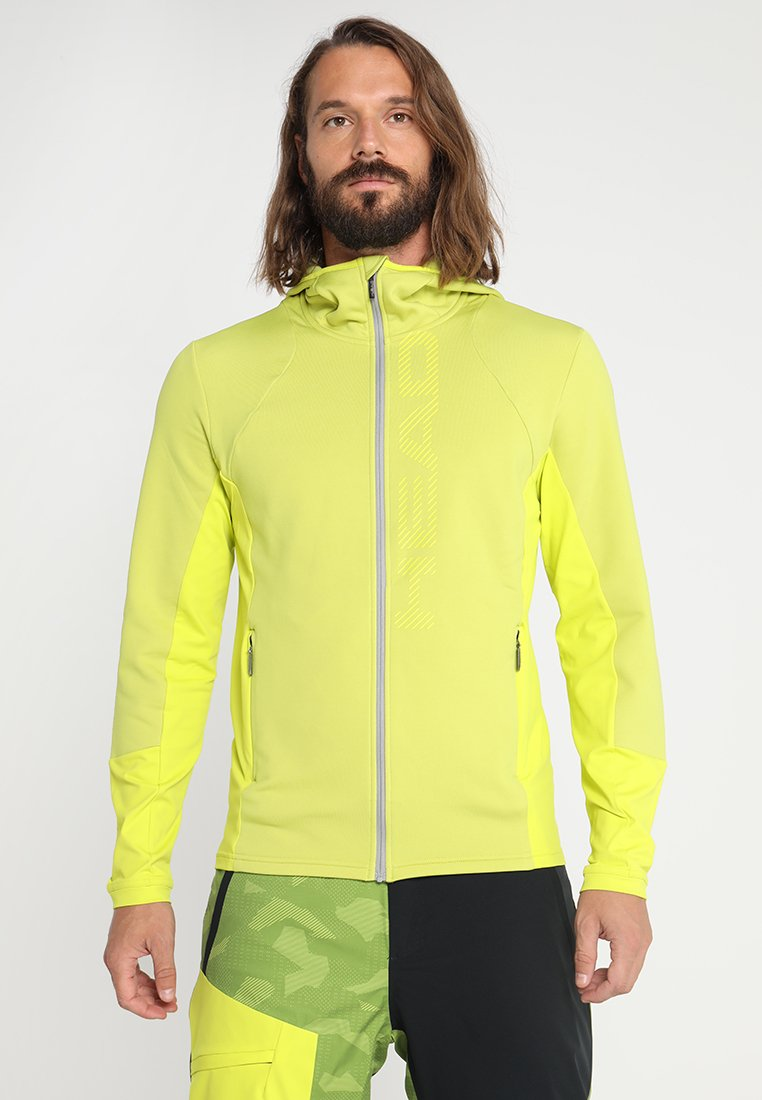 Head - MAX HOODY  - Giacca in pile - neongreen