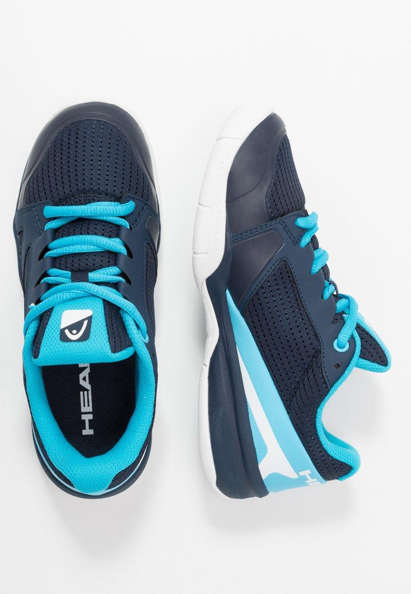 Head - SPRINT 2.5 CARPET JUNIOR - Tennisschoenen voor tapijtbanen - blue