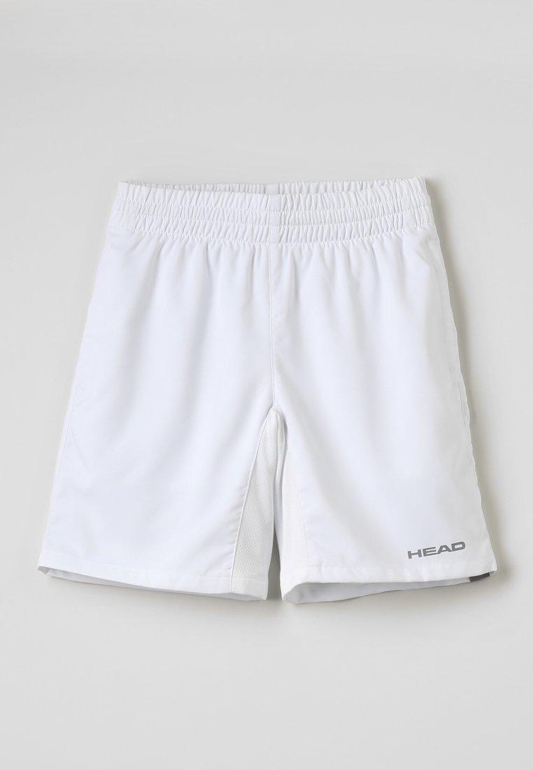 Head - CLUB BERMUDAS  - Sports shorts - white