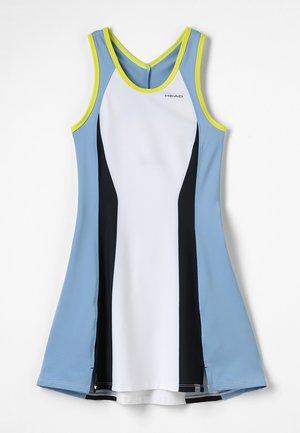FIONA DRESS  - Jurken - white/yellow
