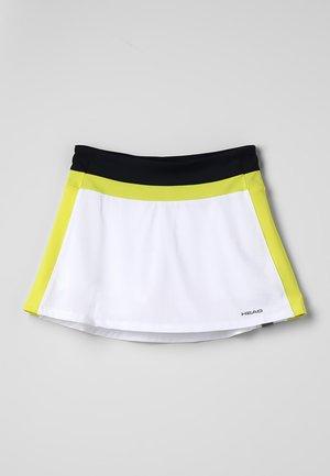 EMMA SKORT  - Jupe de sport - white/yellow