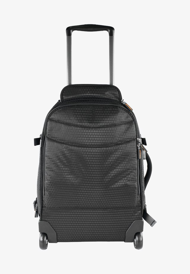SMART MIT PRAKTISCHEN ROLLEN - Wheeled suitcase - black