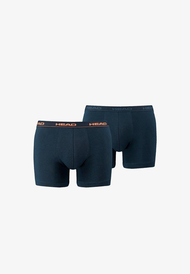 Pants - dunkelblau/orange