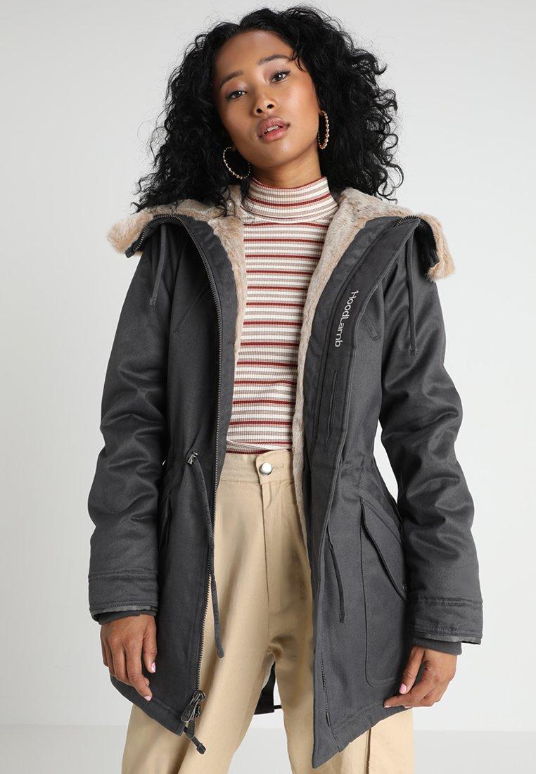Hoodlamb - LADIES - Winter coat - dark grey