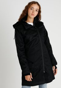 Hoodlamb - LADIES COAT - Parkatakki - black - 0