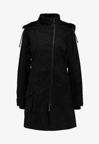 Hoodlamb - LADIES COAT - Parkatakki - black - 6