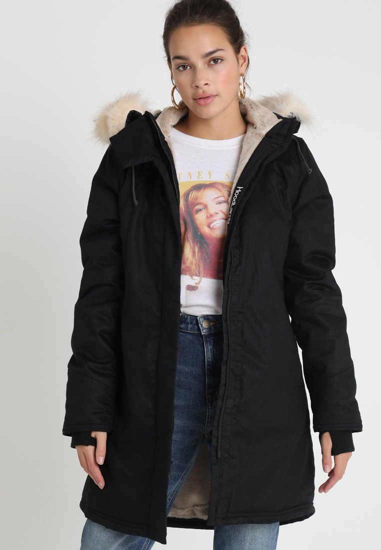 Hoodlamb - LADIES NORDIC - Winterjas - black