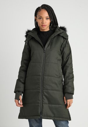 LADIES NORDIC PUFFER  - Talvitakki - deep army green