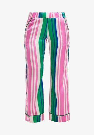 EVIE PRINT BOTTOMS - Pyjamasbyxor - pink/dark blue/white