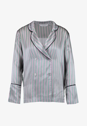 DIETRICH PYJAMA TOP - Pyjama top - green/rose