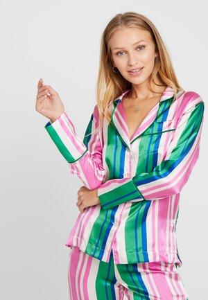EVIE PRINT  - Pyjamasöverdel - pink/blue/white