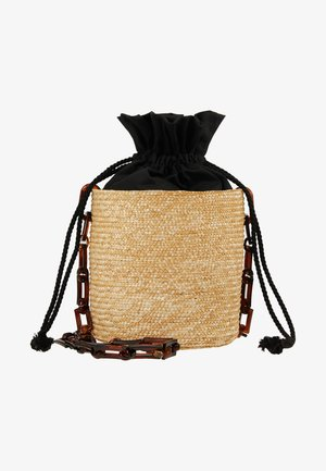 SHOULDER BASKET - Across body bag - black