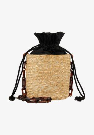 SHOULDER BASKET - Across body bag - black