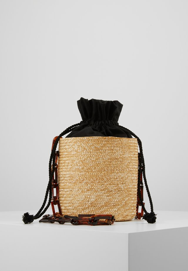SHOULDER BASKET - Schoudertas - black