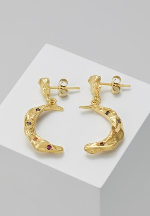 MELIES STARDUST MOON EARRINGS - Ohrringe - gold-coloured