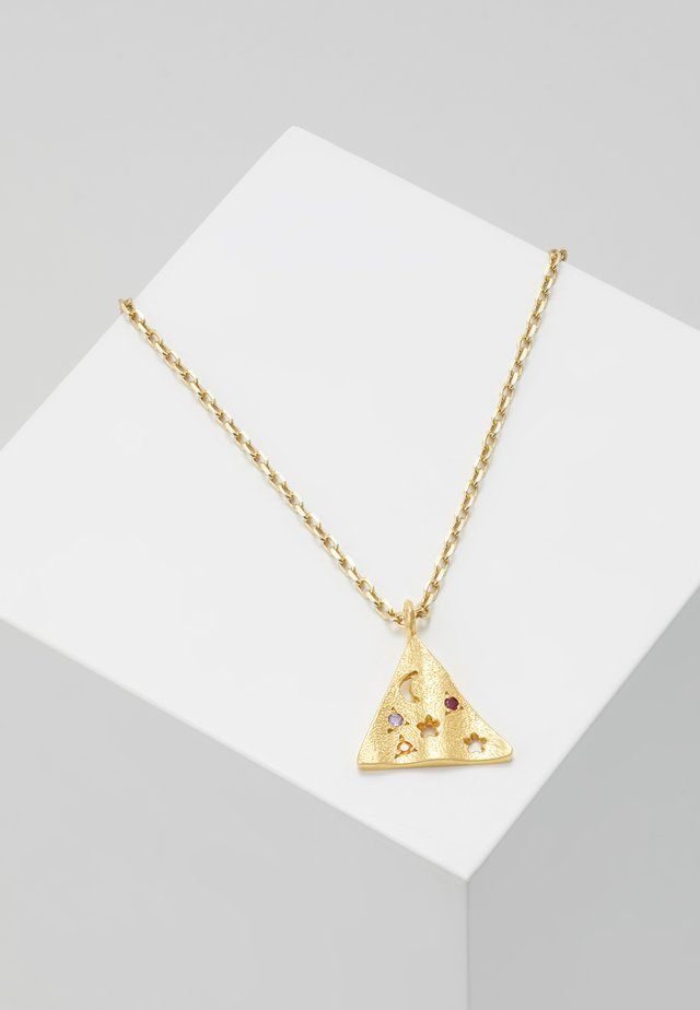 MELIES PYRAMIS - Necklace - gold-coloured