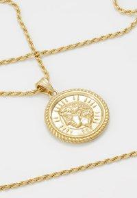 Hermina Athens - ILIOS CORD CHAIN PENDANT - Necklace - gold-coloured - 4