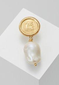 Hermina Athens - HERCULES LOST SEA PIN EARRING SINGLE - Oorbellen - gold - 0