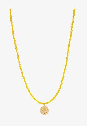 MINI KRESSIDA - Necklace - yellow