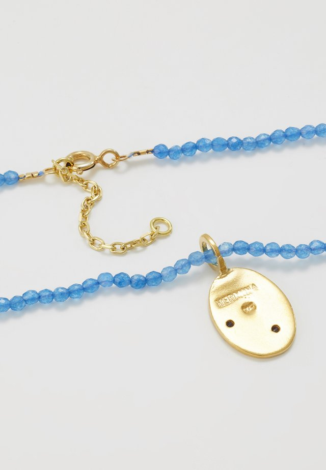 RUNNER NECKLACE - Halsband - navy blue