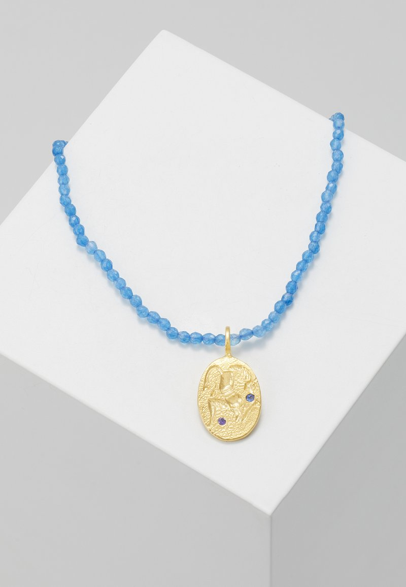 Hermina Athens - RUNNER NECKLACE - Náhrdelník - navy blue