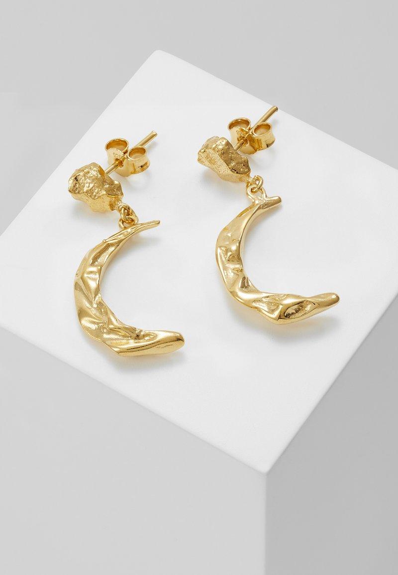Hermina Athens - MELIES MOON EARRINGS - Earrings - gold-coloured