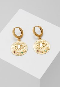 Hermina Athens - KRESSIDA SLIP ON EARRINGS - Oorbellen - gold - 0