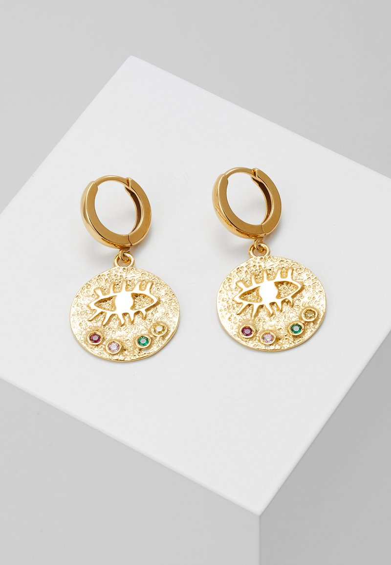 Hermina Athens - KRESSIDA SLIP ON EARRINGS - Oorbellen - gold