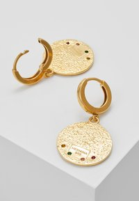 Hermina Athens - KRESSIDA SLIP ON EARRINGS - Oorbellen - gold - 2