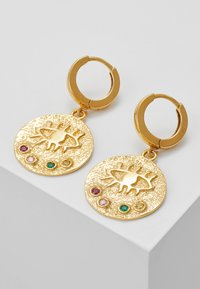 Hermina Athens - KRESSIDA SLIP ON EARRINGS - Oorbellen - gold - 4