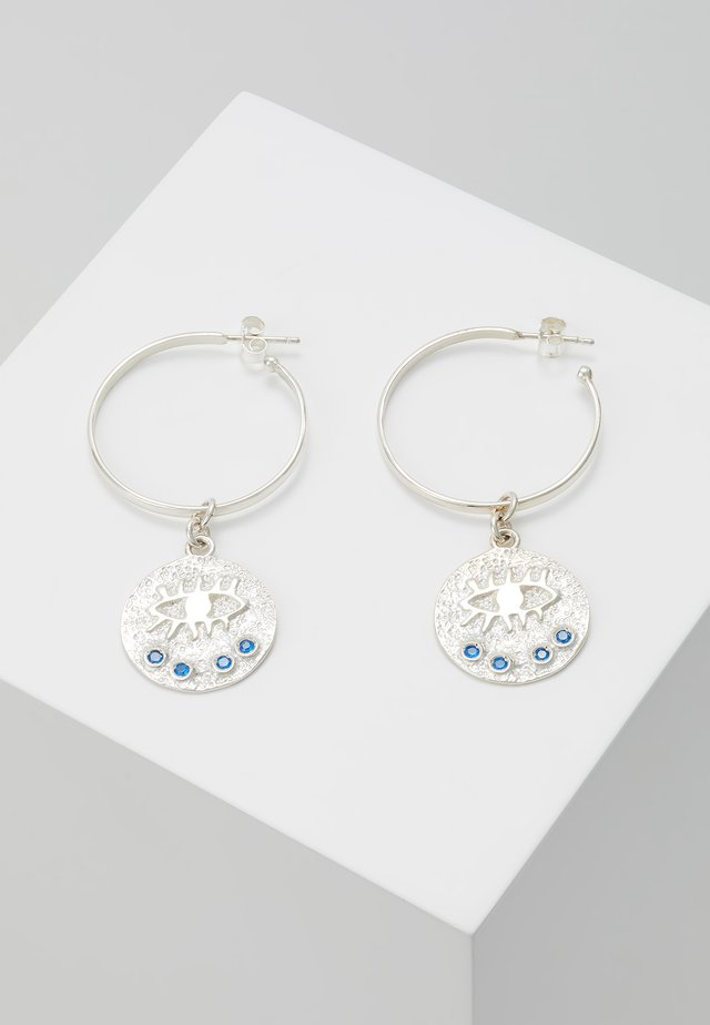 KRESSIDA HOOP EARRINGS - Örhänge - silver-coloured