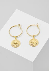Hermina Athens - KRESSIDA HOOP EARRINGS - Kolczyki - gold-coloured - 0