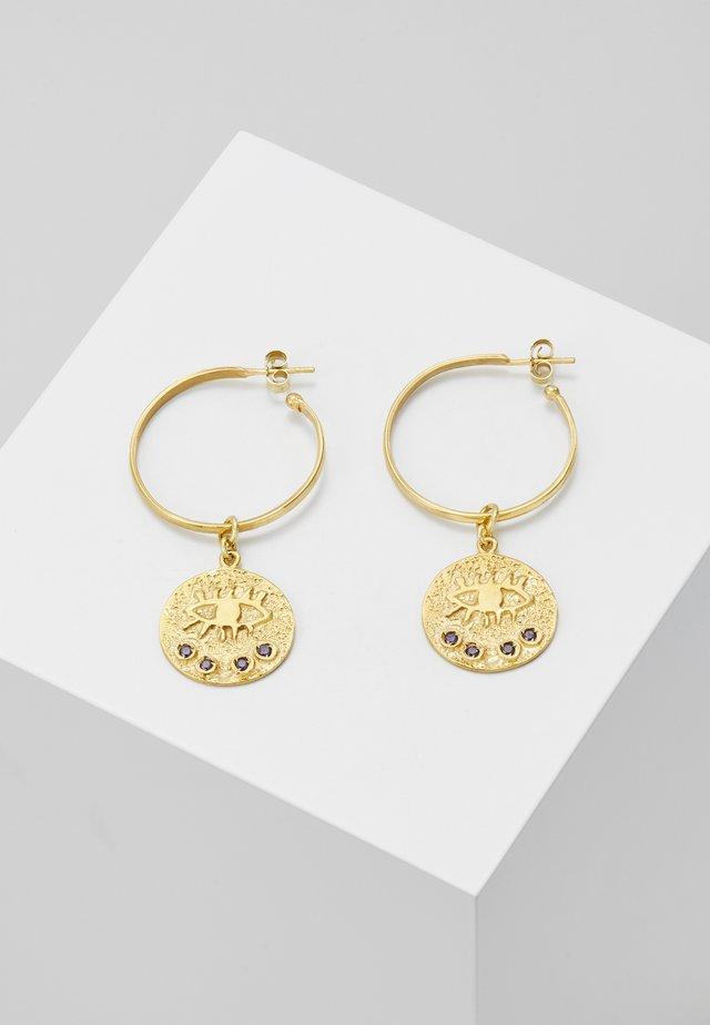 KRESSIDA HOOP EARRINGS - Örhänge - gold-coloured