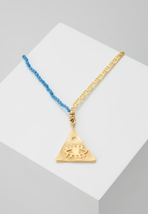 KRESSIDA LARGE PYRAMIS - Ketting - mid night blue