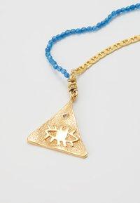Hermina Athens - KRESSIDA LARGE PYRAMIS - Necklace - mid night blue - 2