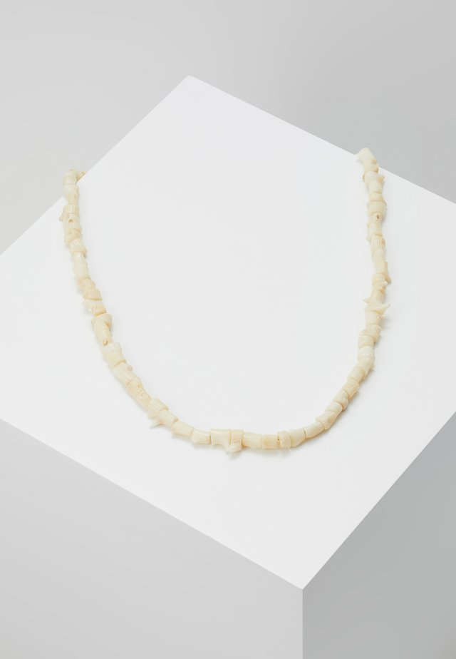 REEF NECKLACE - Ketting - cream