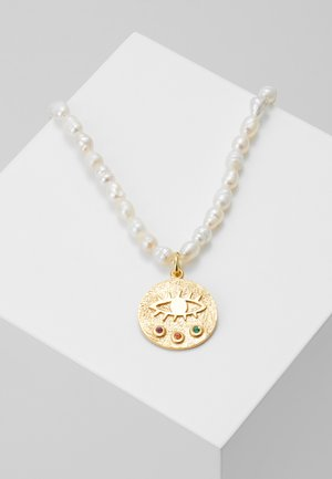MINI KRESSIDA NECKLACE MULTI - Ketting - white