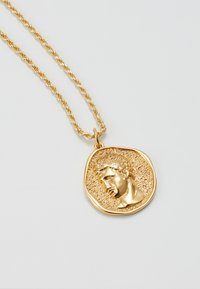 Hermina Athens - HERMIS MATTE LARGE - Necklace - gold-coloured - 2
