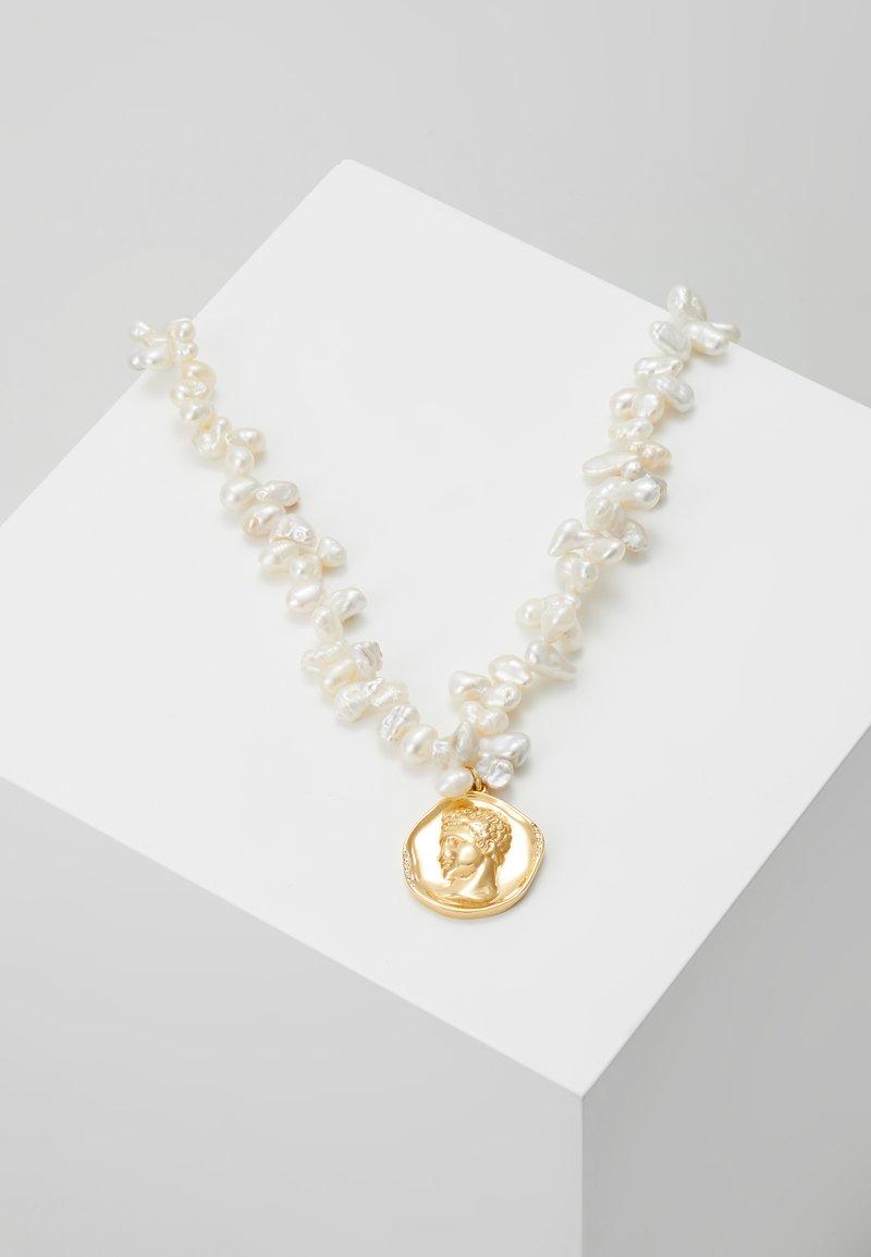 Hermina Athens - HERMIS LUSTRE LARGE NECKLACE - Necklace - gold-coloured