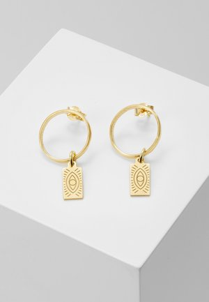 DELIAN BAND EARRINGS - Ohrringe - gold